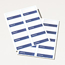 Merrill Lynch Printable Name Tags - 80 Pack