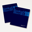 Bank of America Merrill Lynch Recycled Presentation Folder - 25 Pack