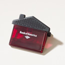 Bank of America House Shape Clip