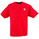 Cummins Red T-Shirt (CI1040)