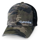 Washed Camo Mesh Cap