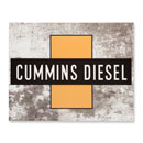 Cummins Cross Collectible Sign
