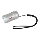 Mini Aluminum Flashlight with Strap