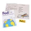 FedEx Coloring & Activity Book with Crayons
