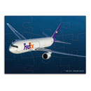 FedEx Express Airplane Puzzle (9-pc)