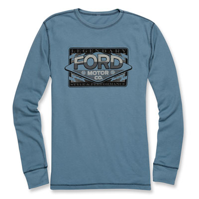 Ford Motor Co. Long-Sleeve Thermal Shirt