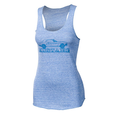 Ladies' Ford Mustang Racerback Tank