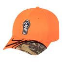 Hunter Orange/Camo Cap