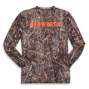 Long-Sleeve Camo Performance Shirt