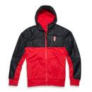 Embossed Hybrid Fleece Jacket
