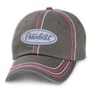 Ladies' Pink-Stitch Cap