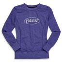 Ladies' Glitter Oval Sweatshirt