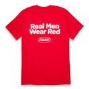 Real Men Wear Red T-shirt