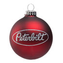 Peterbilt Globe Ornament