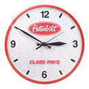 Diamond Plate Wall Clock