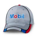 Grey and blue cap
